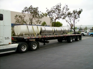 First load of tanks, leaving Alesmith