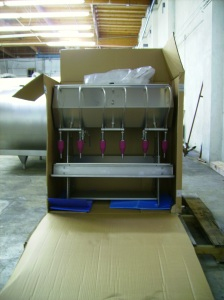 Ooo...Just what I wanted...a 6-head manual bottling line!  Thanks Santa!
